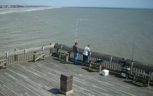 Edwin s taylor folly beach fishing pier for Folly beach fishing